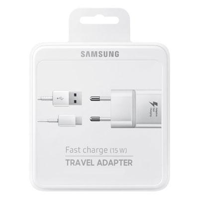 Original Samsung Handy-Ladeset (Netzadapter + USB-Kabel), Artikelnummer: HN-081149