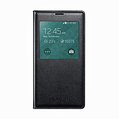 Original Samsung Handy-Flipcover mit Sichtfenster, Artikelnummer: HT-085009