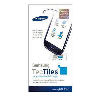 Original Samsung Handy-TecTiles NFC-Sticker, Artikelnummer: HZ-085016