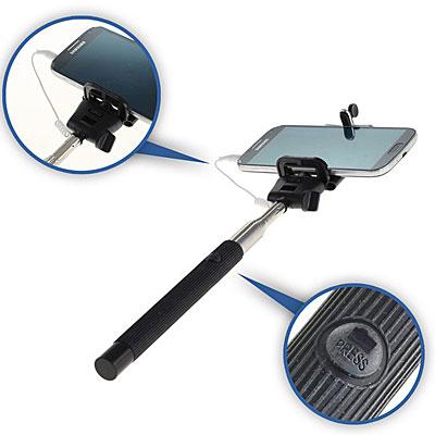 Handy-Ausziehbarer Selfie-Stick, Artikelnummer: HZ-990011
