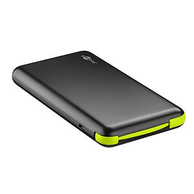 goobay Handy-Powerbank Slim 8.0, Artikelnummer: UZ-990078